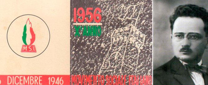Ricordo di Biagio Pace: presiedette la riunione del '46 in cui fu fondato il Msi