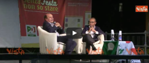Pier Luigi Bersani: «Berlusconi è più simpatico a me che a Renzi» (il video)