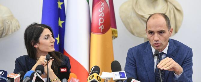 """Addio Roma 2024, Raggi: """"Troppe speculazioni"""". Meloni: """"Sei incapace"""""""
