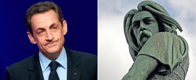 "Sarkozy ""arruola"" Vercingetorige e giura: «Nessuna pietà per i terroristi»"
