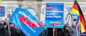 """Berlino, previsto per domani un """"esordio col botto"""" per la destra AfD"""
