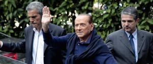 Il ritorno di Berlusconi: «Il M5S? Si dimostra incapace. Renzi? Ha fallito»