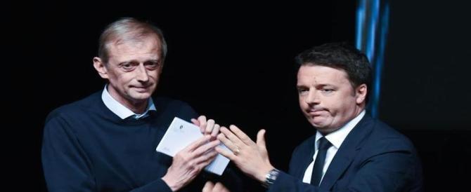 """Migranti, Renzi """"sfiducia"""" Alfano e gli affianca Fassino (rimasto senza poltrona)"""
