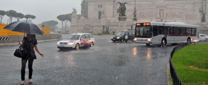 Previsioni meteo: nel weekend sono in arrivo piogge e forti temporali