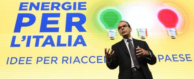 Parisi prenota la leadership: «Niente primarie, mi manda Berlusconi»
