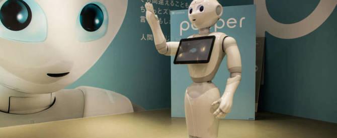 Arriva Pepper, il robot che fa passare la paura ai bambini