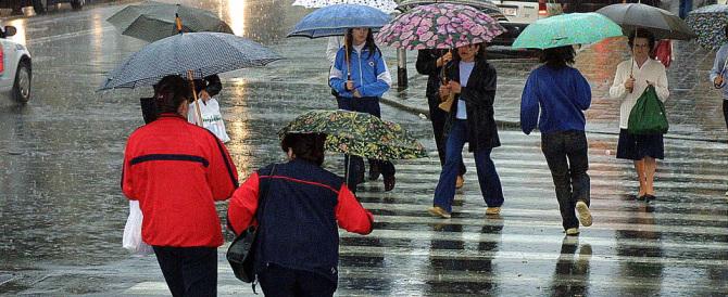 Previsioni del tempo: da giovedì pioggia al Nord. Ci sarà meno caldo