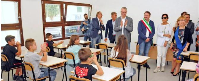 Sciacalli senza scrupoli, rubati i pc nella scuola inaugurata dopo il sisma