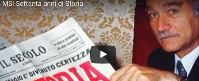 Un video racconta i 70 anni di storia del Msi: i leader, i congressi, i dibattiti