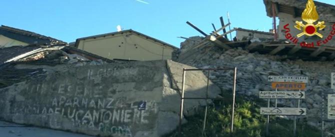 Sisma, esercito in campo: 1200 militari e trecento mezzi nelle zone colpite