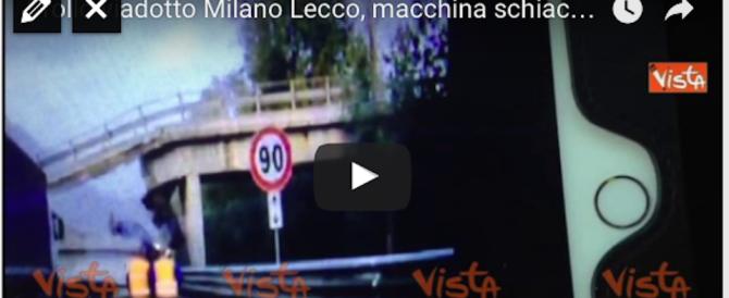 Crollo del cavalcavia a Lecco, avvisi di garanzia a tre ingegneri