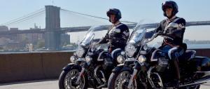 Columbus Day, anche i motociclisti Corazzieri sfilano a New York