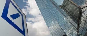 Le Borse rischiano lunedì nero per la maxi-multa Usa a Deutsche Bank