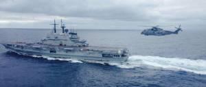 Marina militare, ritorna la fregata Euro da un'azione antipirateria di 7 mesi