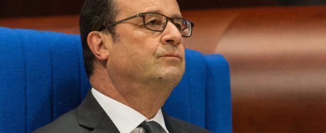 """Hollande: """"Se ci sarà ballottaggio, inviterò a votare Sarkozy contro Le Pen"""""""