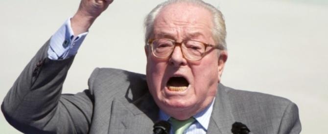 """Jean-Marie Le Pen in tribunale: vuole 2 milioni dal Fn per danni """"morali e politici"""""""