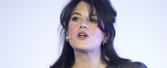 Monica Lewinsky: «Con Bill Clinton sbagliai, sono stata vicina al suicidio»