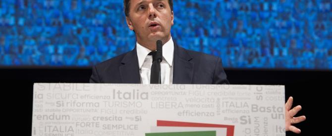 Renzi si batte il petto davanti a Re Giorgio: «È vero, ho sbagliato»
