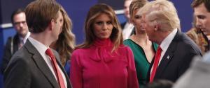 Melania Trump rompe il silenzio: contro Donald solo fango, la smettano
