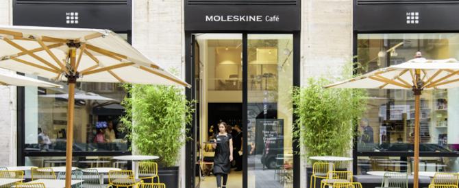 Nasce a Milano il primo Moleskine Café con spazi riservati all'arte e alla cultura
