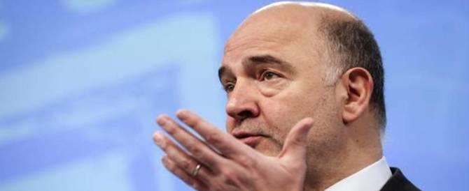 Banche, è allarme rosso. Moscovici: «Il sistema italiano è vulnerabile»