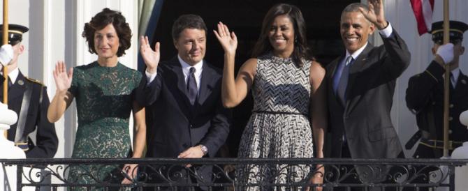 Obama riceve Renzi per un grande spot sul referendum (a nostre spese…)