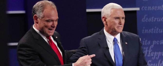 Duello tra i vice di Clinton e Trump: stravince il repubblicano Pence