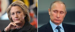 Nervi tesi tra Usa e Russia: Hillary attacca sugli hacker e Putin s'arrabbia