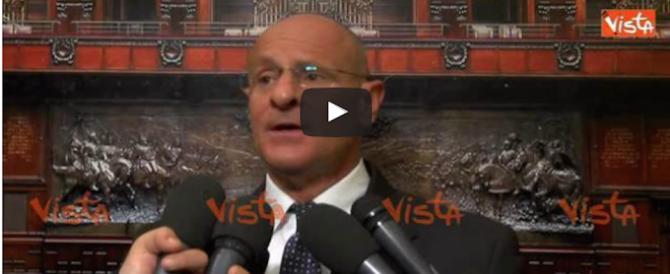 Rampelli: «Se Renzi avesse detto la verità sulla riforma, Obama…» (video)