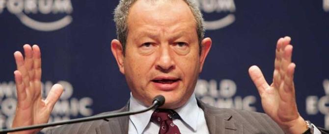 """Il magnate egiziano Sawiris investirà in Basilicata: """"Darò lavoro agli italiani"""""""