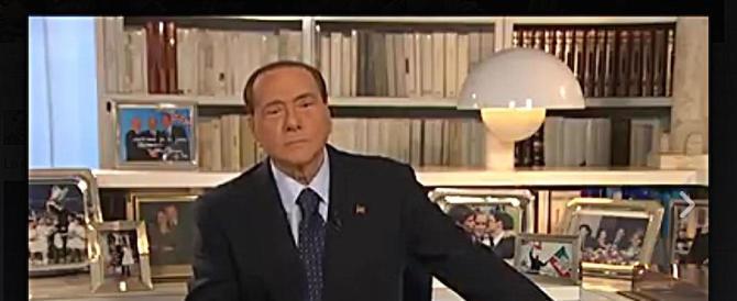 Berlusconi: «Renzi all'ultima spiaggia, con lui l'Italia non conta più niente»