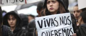 Primo sciopero delle donne in Argentina: basta col femminicidio