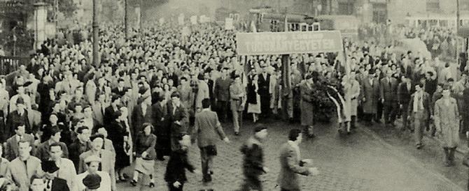 Sessant'anni fa iniziava la rivolta dei ragazzi di Buda (e di quelli missini)