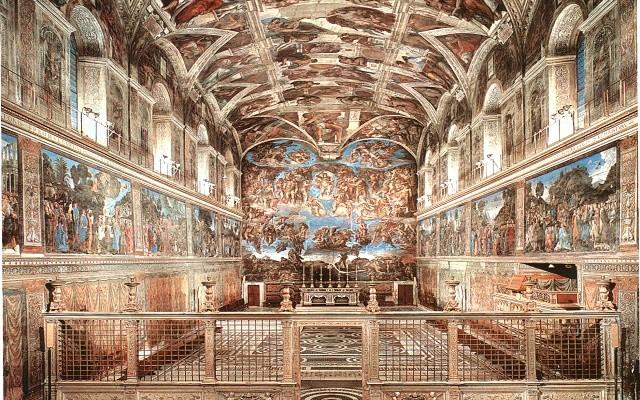 Svolta storica in vaticano al via i concerti nella for Decorazione quattrocentesca della cappella sistina