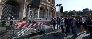 Scuole chiuse, crepe nei palazzi e danni all'arte: ora Roma ha paura