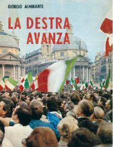 L'opuscolo con cui Almirante spiega il successo elettorale del 1972