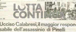 Il caso Calabresi: da Scalfari scuse private dopo il pubblico linciaggio