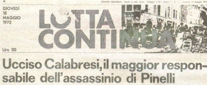 Feltri contro Mario Calabresi: «Pagine di saliva per Fo e nulla su tuo padre»