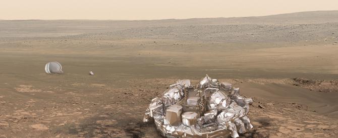 La sonda Schiaparelli forse è esplosa nell'impatto. È precipitata a 300 km orari