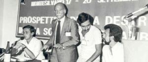 Gasparri: «Il Msi fu una scuola di vita e di democrazia, altro che grillini…»