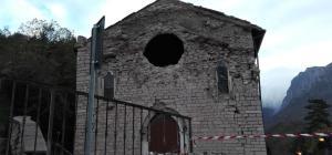 Terremoto: sindaco Ussita, palazzi lesionati chiesa crollata