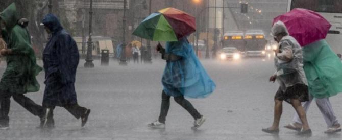 """Per il ponte """"dei morti"""" previsti temporali e temperature in calo"""