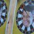 Freccette sul faccione di Renzi: la provocazione di Lotta studentesca