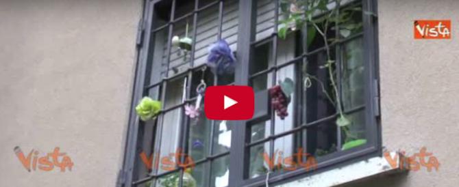 Donna uccisa a Bologna: le immagini dell'appartamento dopo l'omicidio (video)