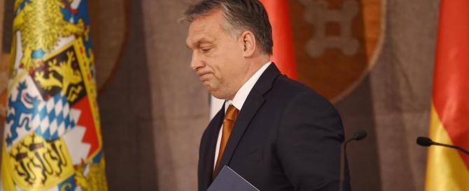 Il sorriso alla Merkel non cambia nulla: sui profughi Orban non si fa intimidire