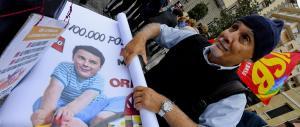 Napoli paralizzata da scioperi e studenti: tutti in piazza contro Renzi