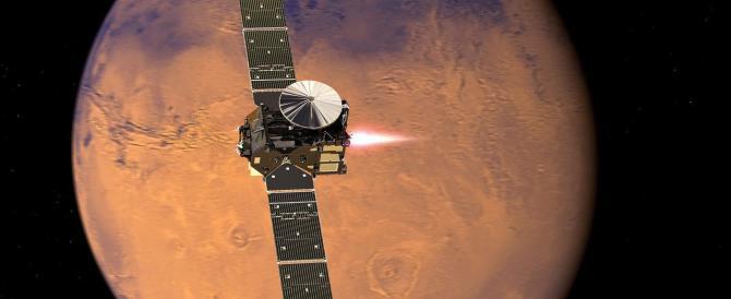 L'Italia è arrivata su Marte: ma si perde il segnale di Schiaparelli