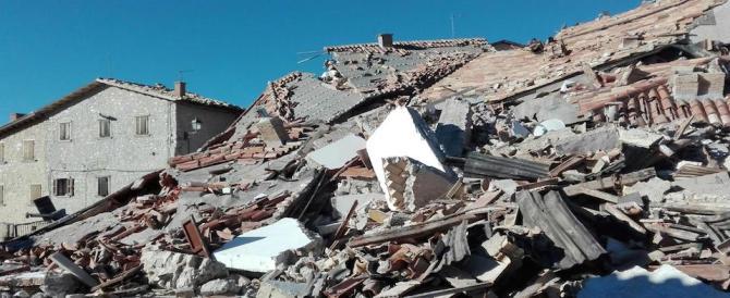 Terremoto, il suolo si è abbassato di 70 cm. Renzi: container entro Natale
