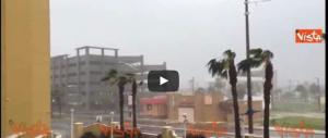 L'uragano Matthew arriva in Florida e devasta un albergo (ecco il video)