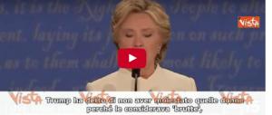 Trump: «Nessuno ha rispetto più di me delle donne, basta fango» (video)